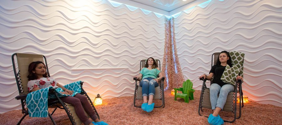 salt therapy room in florida